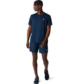 asics Katakana Mouwloos Shirt Heren, blauw
